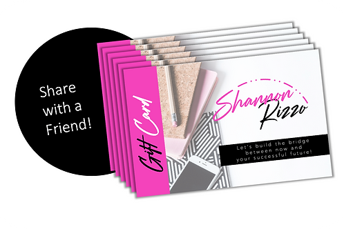 Shannon Rizzo - Gift Card