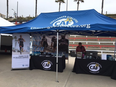 CAF Expo Tent @ Ironman Triathalon