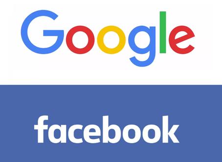 История успеха: Google и Facebook