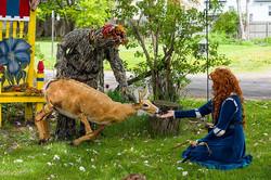 fairy tale fest treeman and merida