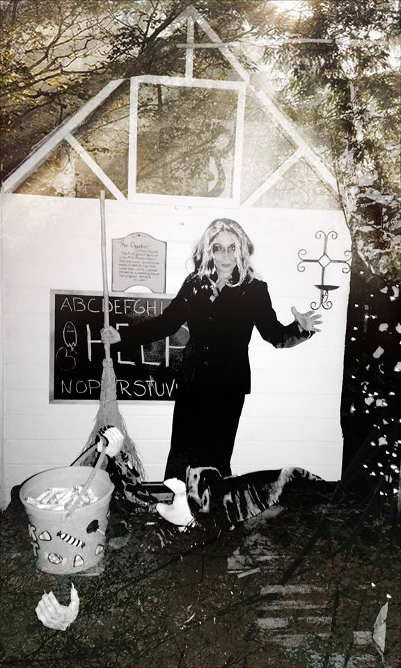 All Hallows Eve witch