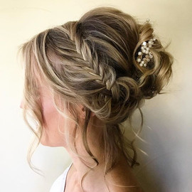 Gorgeous updo for my bride to be! 😍.jpg
