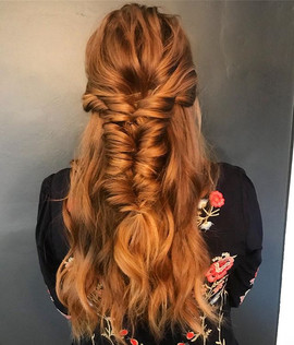 When your client has the perfect hair fo