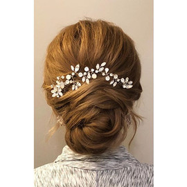 Beautiful textured updo for my bride to