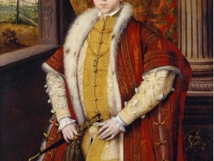 On this day...9-year-old Edward VI's coronation