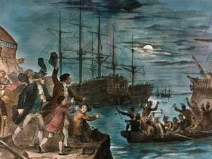 The Boston Tea Party - 1773