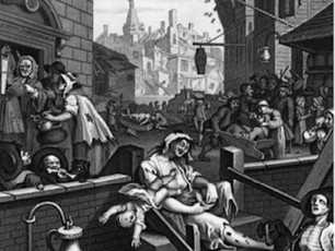 The 18th Century craze for gin