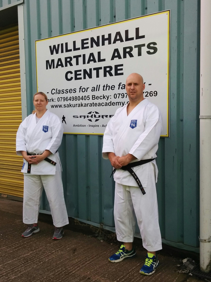 Opening Willenhall Martial Arts Centre