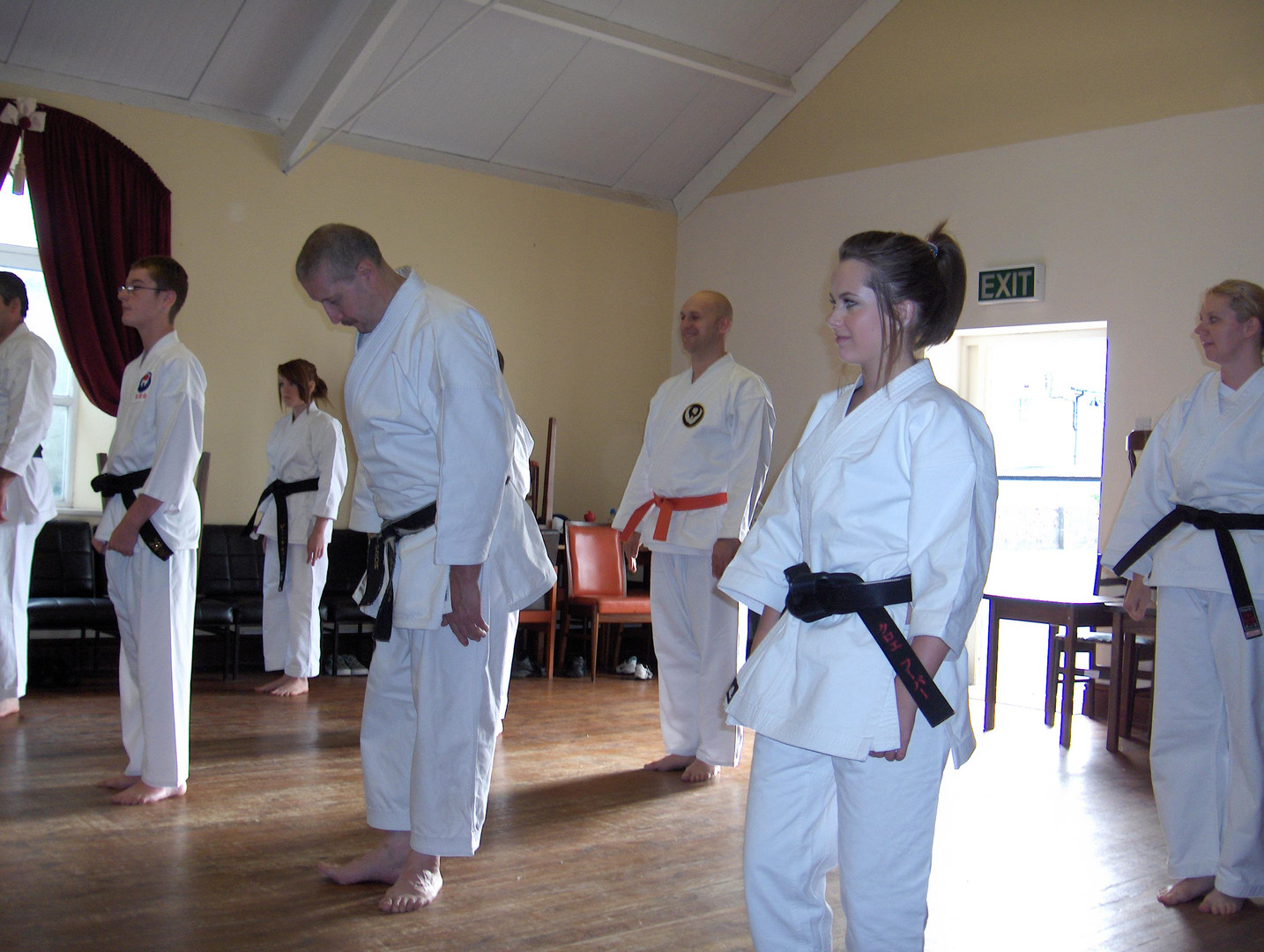 Barmouth training