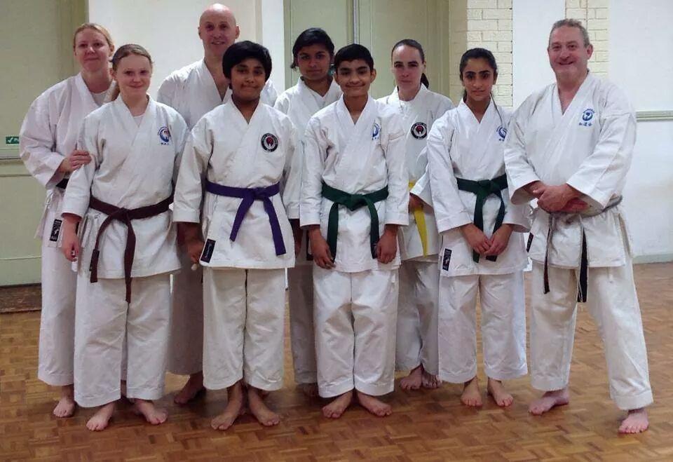 Sakura students & coaches  at a course