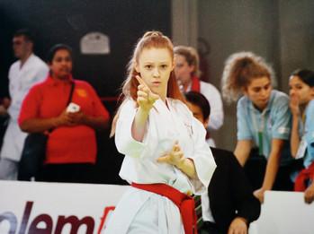 Performing Bassai