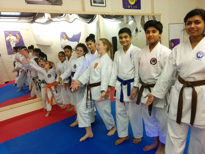 Course at Sakura dojo