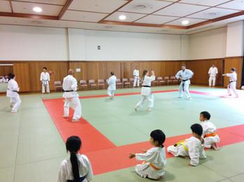 Training in Tokyo Dojo Japan