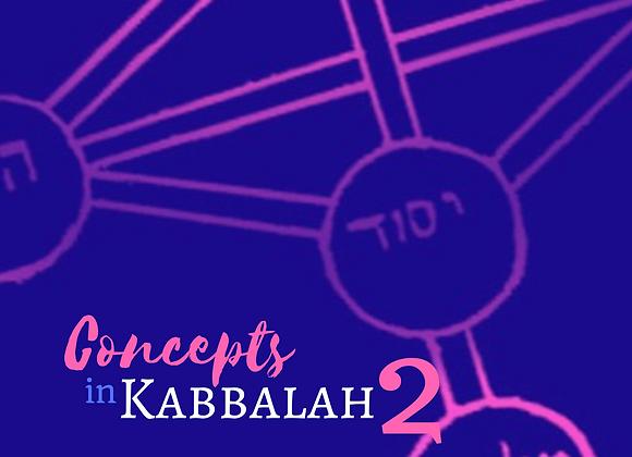 Concepts in Kabbalah 2