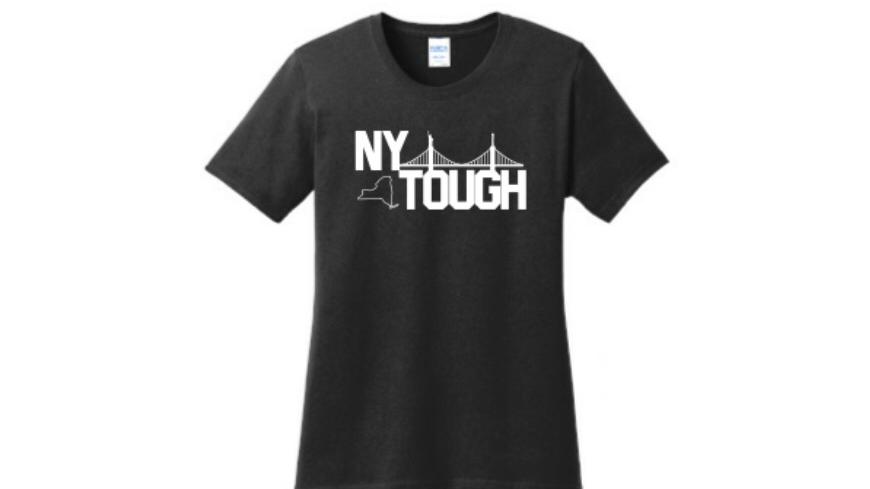 NY Tough black t shirt men and women