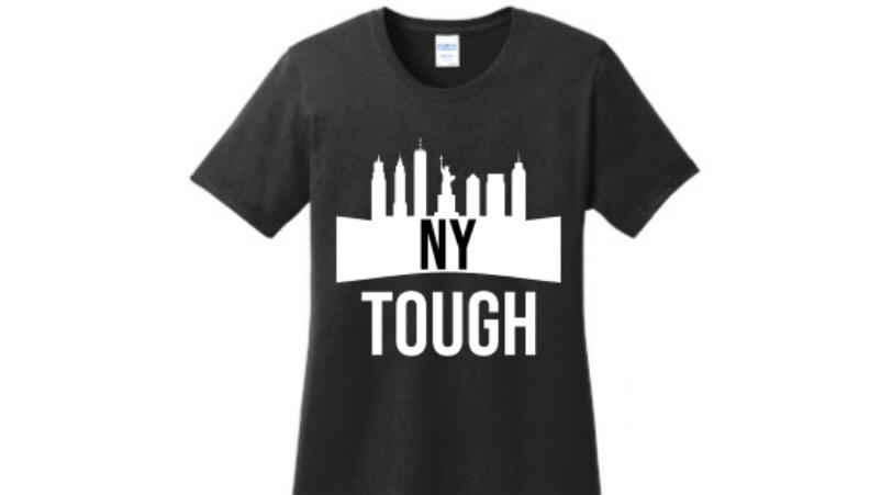 NY Tough black graphic t shirt