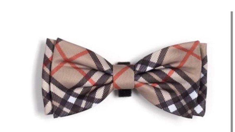 Plaid Dog Bow Tie, Dog Bow Tie, Dog Collar Bow Tie, Cat Bow Tie, Pet Bow tie
