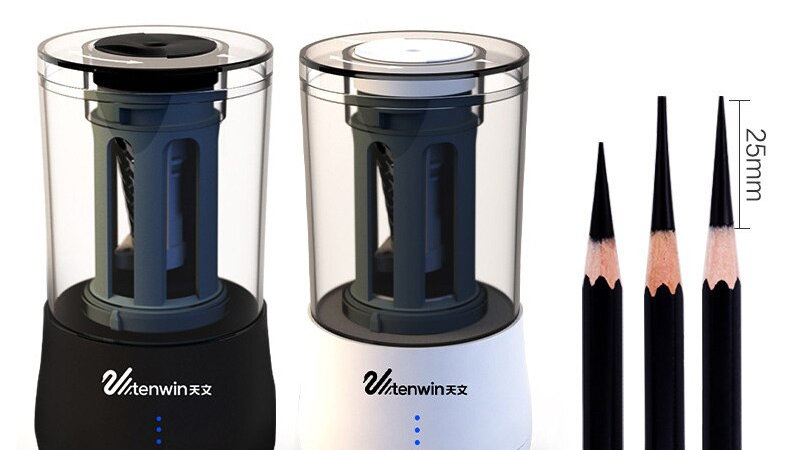 Tenwin 8009 Automatic Pencil Sharpener for perfection! (Battery Operated)