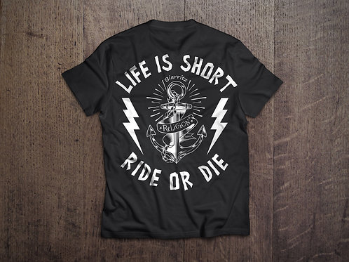 T-SHIRT RELIGION JUICE RIDE OR DIE