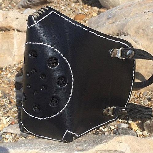 Masque Ride or Die Cuir Hand made