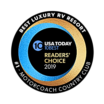 10Best2019 BestLuxuryRVResort Motorcoach
