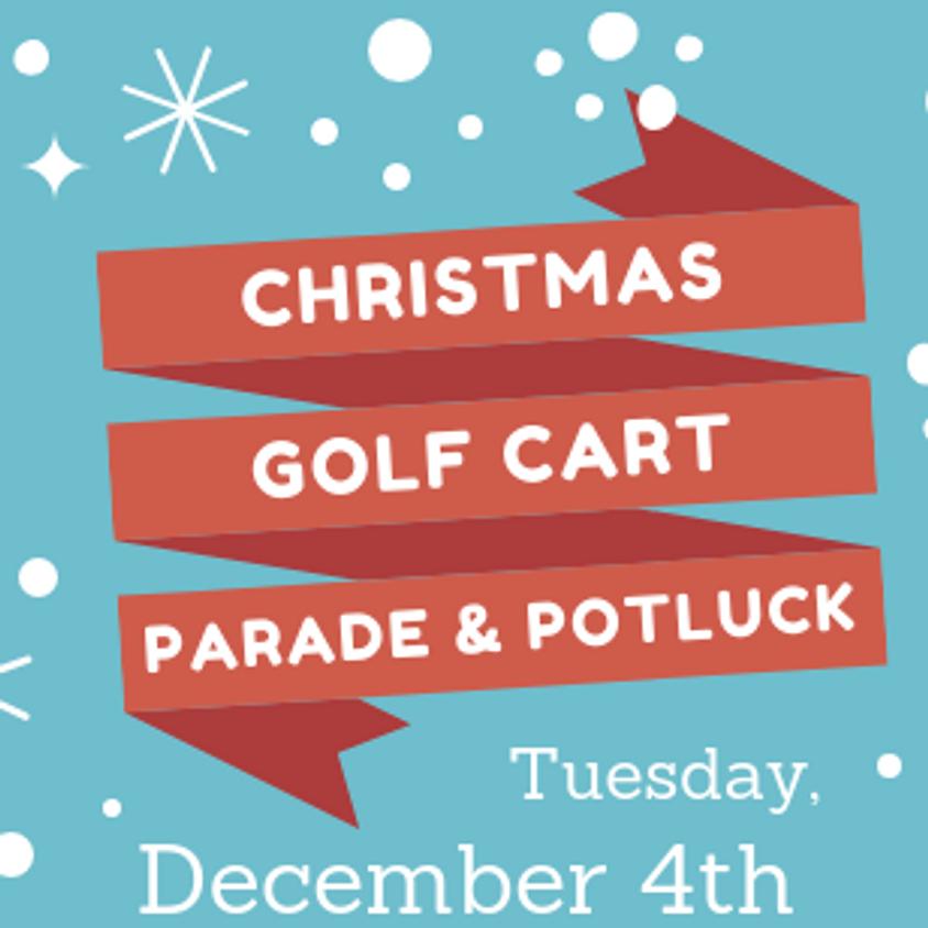 Christmas Golf Cart Parade & Potluck