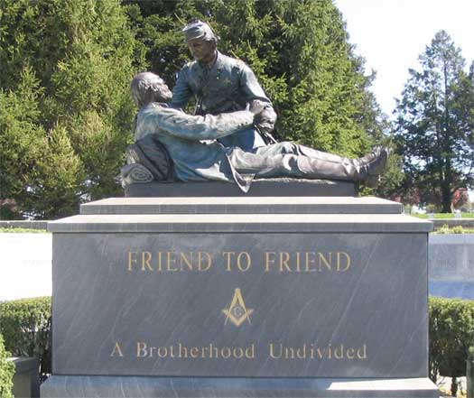 Friend to Friend Monument