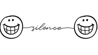 Le silence est aussi une parole qui cherche à se faire entendre…