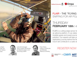 Join FLAIR webinar!  February 18th | 4 PM CET