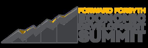 Economic Summit Logo - Horizontal- Trans