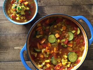 Cleansing Winter Vegetable Soup (dairy-free, gluten-free, plant-based)