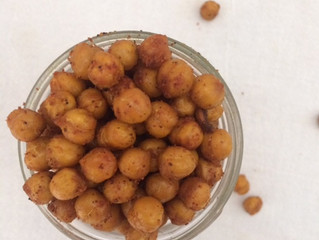 Roasted Spiced Chickpeas + 3 Reasons Why You Should Eat Pulses