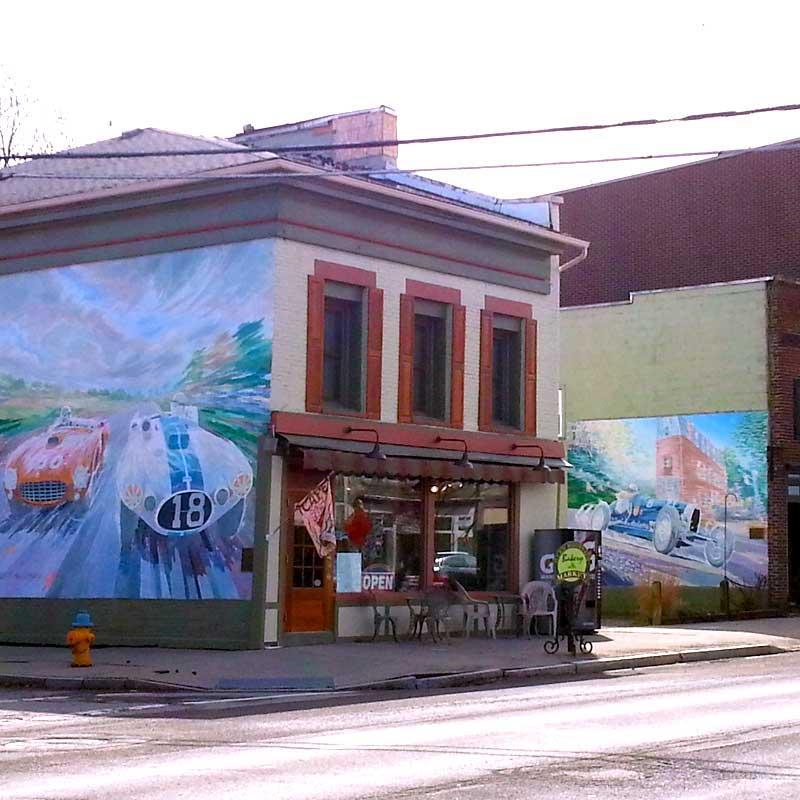 Watkins Glen Franklin Street Murals