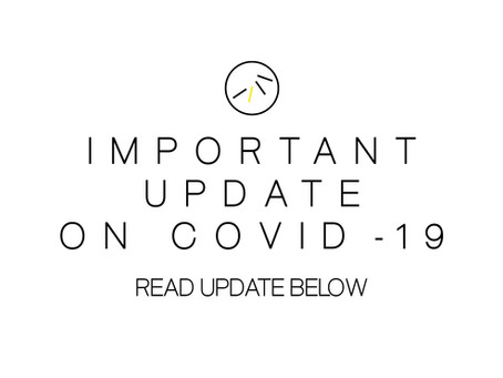 COVID-19 Update: How we are gathering
