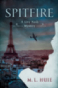 The cover of the Livy Nash thriller SPITFIRE