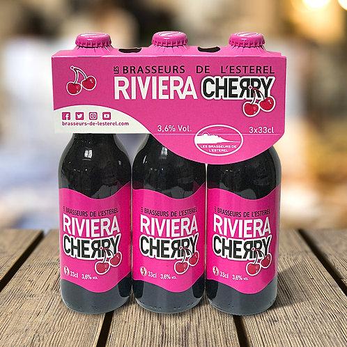 Tripack 3 Bouteilles 33cl Riviera Cherry