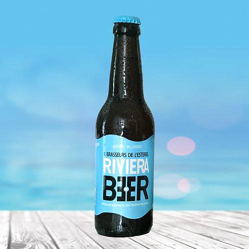 Bouteille 33cl Riviera Beer Blonde