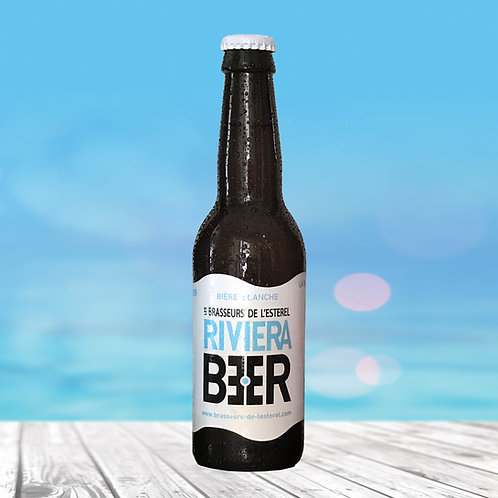 Bouteille 33cl Riviera Beer Blanche