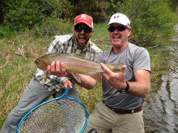 Salmonfly Hatch Rainbow Trout