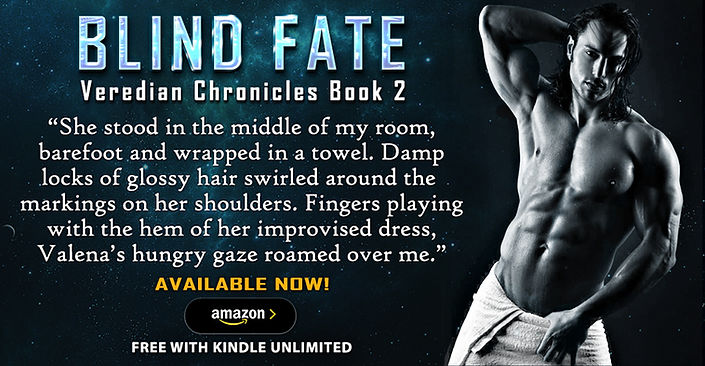 Blind Fate (Veredian Chronicles Book 2)