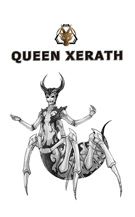 The Kryptid Queen Xerath