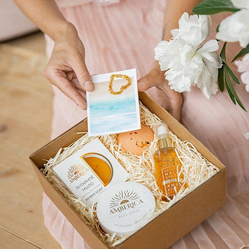 Лимитированный подарочный набор Amber SPA