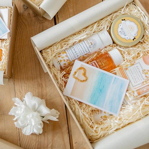 Лимитированный подарочный набор для тела Amber Care