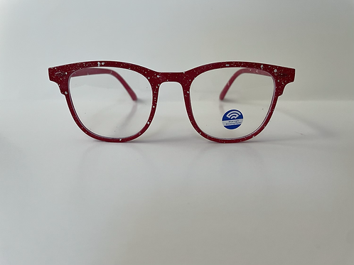 Cherry 🍒 Red Speckled Frame