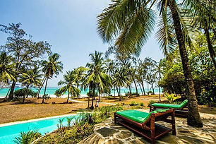 One night for two at Diani House on B&B