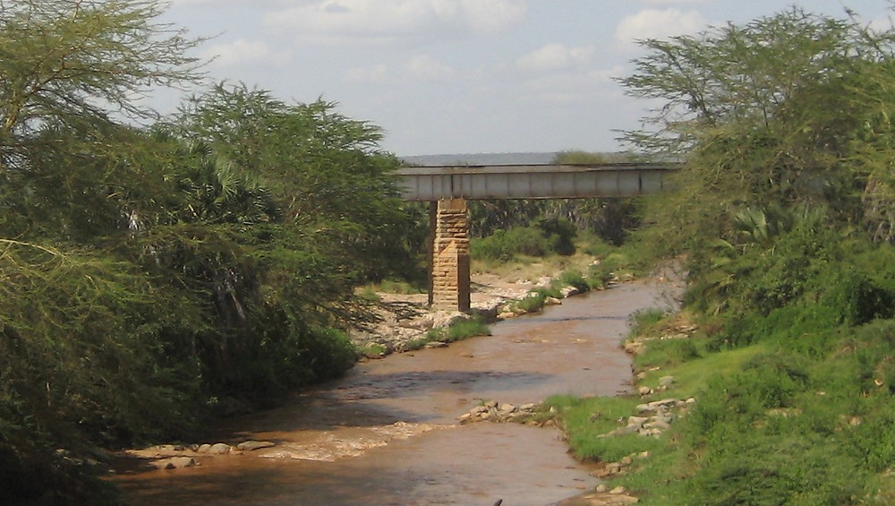 Tsavo River Railway Bridge