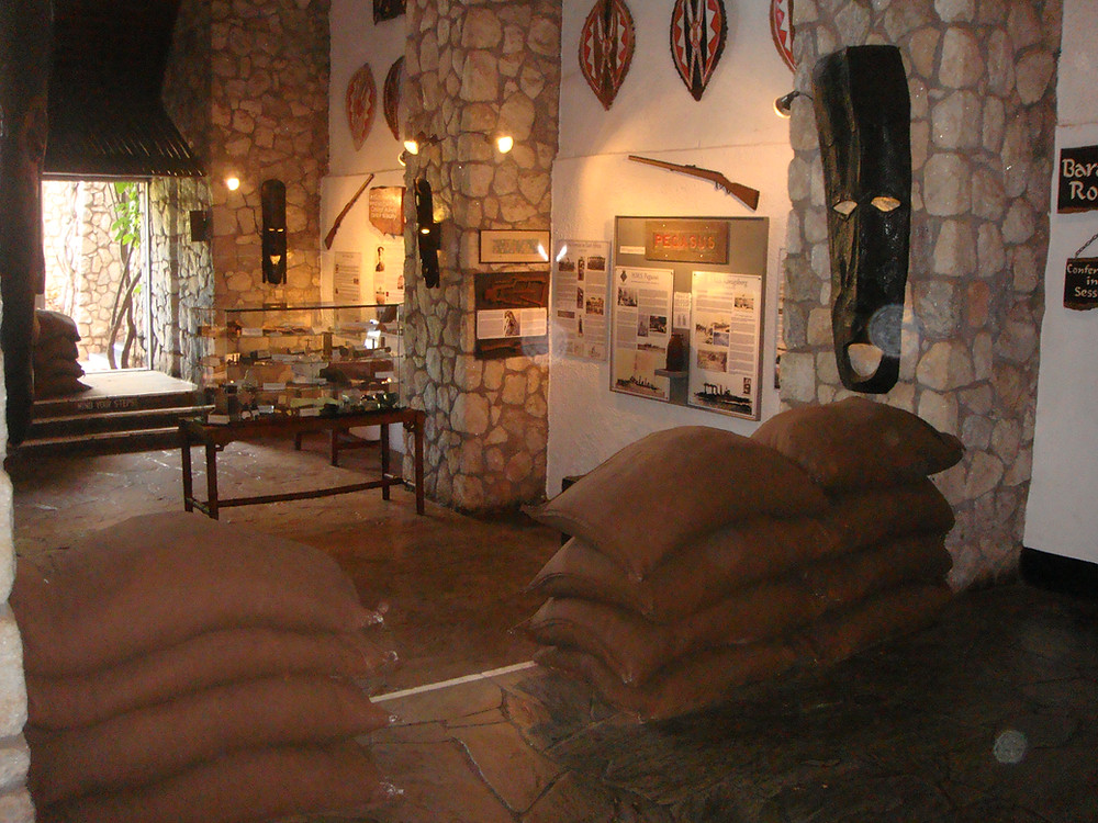 The Current Exhibit at Taita Hills Lodge