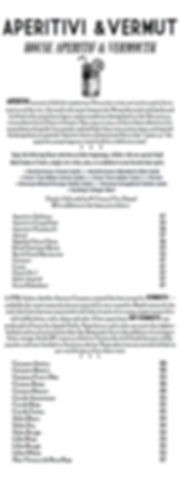 SPIRITS & COCKTAIL LISTq FALLnWINTER18 (
