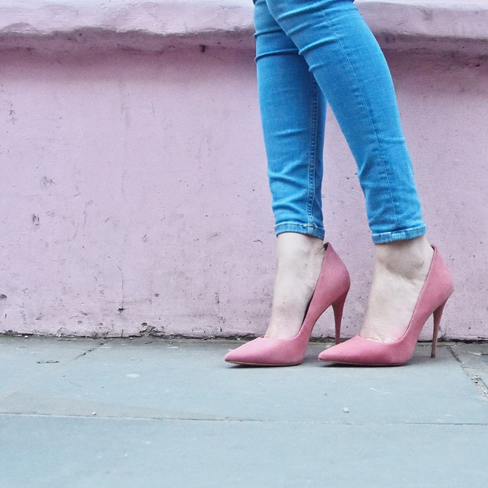 Pretty in Pink (Court Shoes)