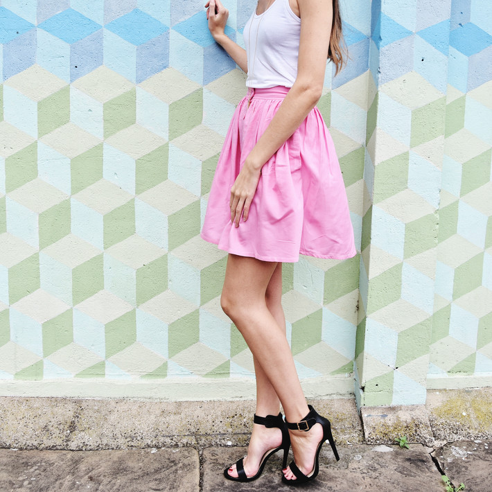 Pastel Skirts for Summer